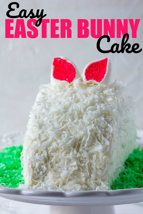 How To Make An Easter Bunny Cake Dessert