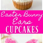 Easter Bunny Ears Cupcakes MidgetMomma These cute bunny ear cupcakes will make any one smile. They have a simple flavor with the addition of coconut and marshmallows.