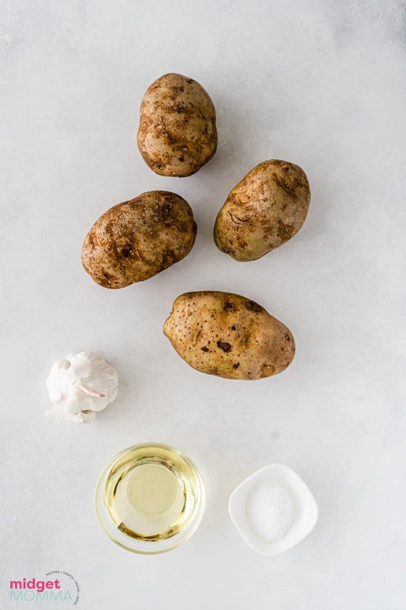 Hassleback potatoes ingredients