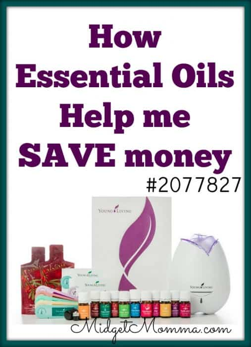 How Essential oils help me save money