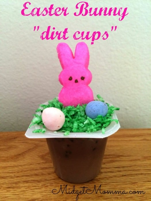 Bunnies In The Field pudding Cups will make any child smile. The coconut grass adds great flavor and texture to the pudding cup.