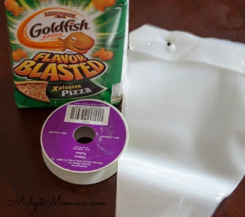 goldfish easter snack