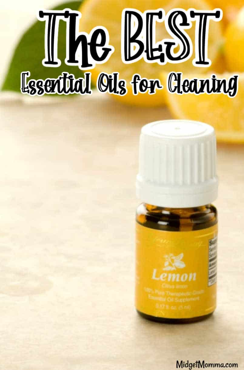 Best Essential Oils to Clean With