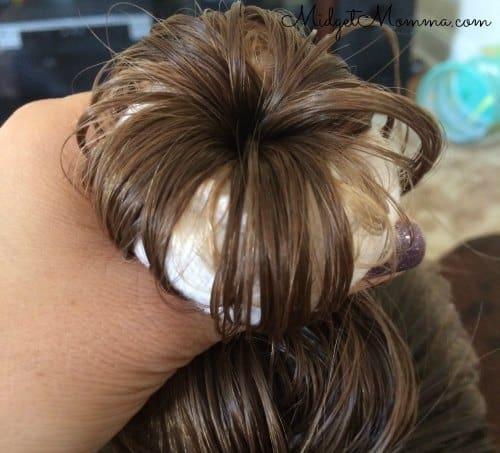 Bibbidi Bobbidi Boutique Princess Hair Tutorial step 6