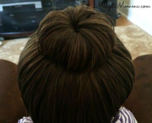Bibbidi Bobbidi Boutique Princess Hair Tutorial step 7