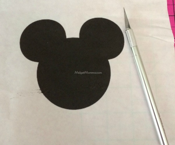 DIY Disney Silhouette Shirts 1