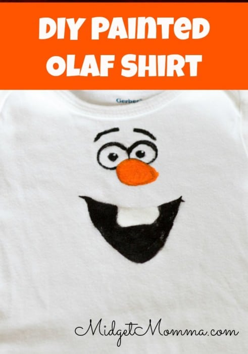 DIY Olaf Shirt