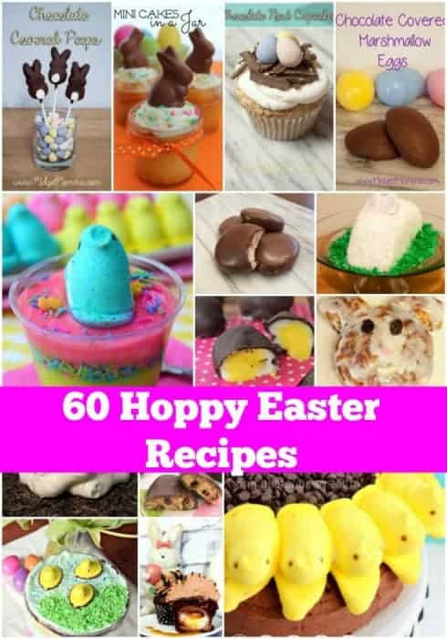 60 Best Easter Treat Recipes that are sure to make your holiday fun. They have different skill levels from simple to hard.