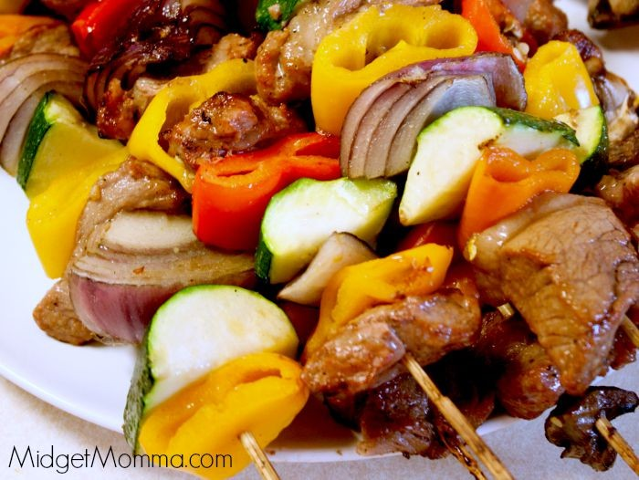 Grill Steak kabobs