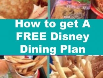 FREE Disney Dining Plan! | Save Money on Food at Disney Parks