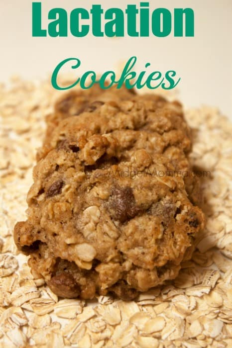 Lactation Cookies. If you are nursing and having supply issues try these Lactation Cookies, they helped me a TON when i was nursing to fix my supply issue