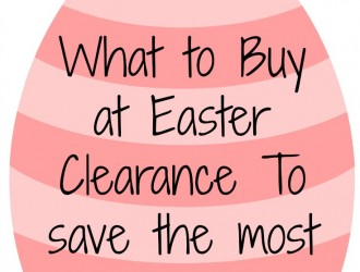 What to Buy on Easter Clearance To Save the Most Money