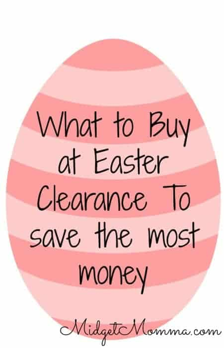 What to buy on Easter Clearance