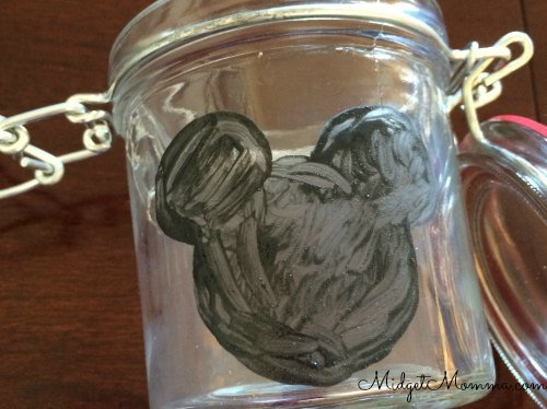 diy disney paint count down jar