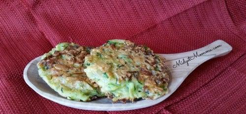 easy gluten free veggies zucchini fritter