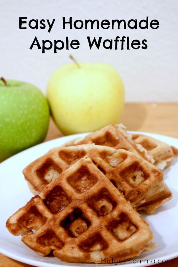 Don't forget to Pin these Apple Waffles to your Breakfast board on ...