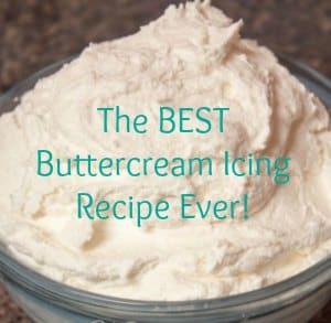 homemade buttercream recipe