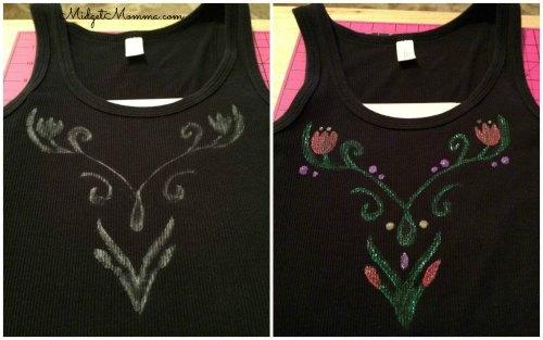 how to make anna shirt diy