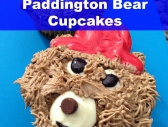 Paddington Bear Cupcakes, Paddington Bear, Bear Cupcakes, Brown Bear, Paddington, Fun Cupcakes, Kid Cupcakes, Easy Cupcakes