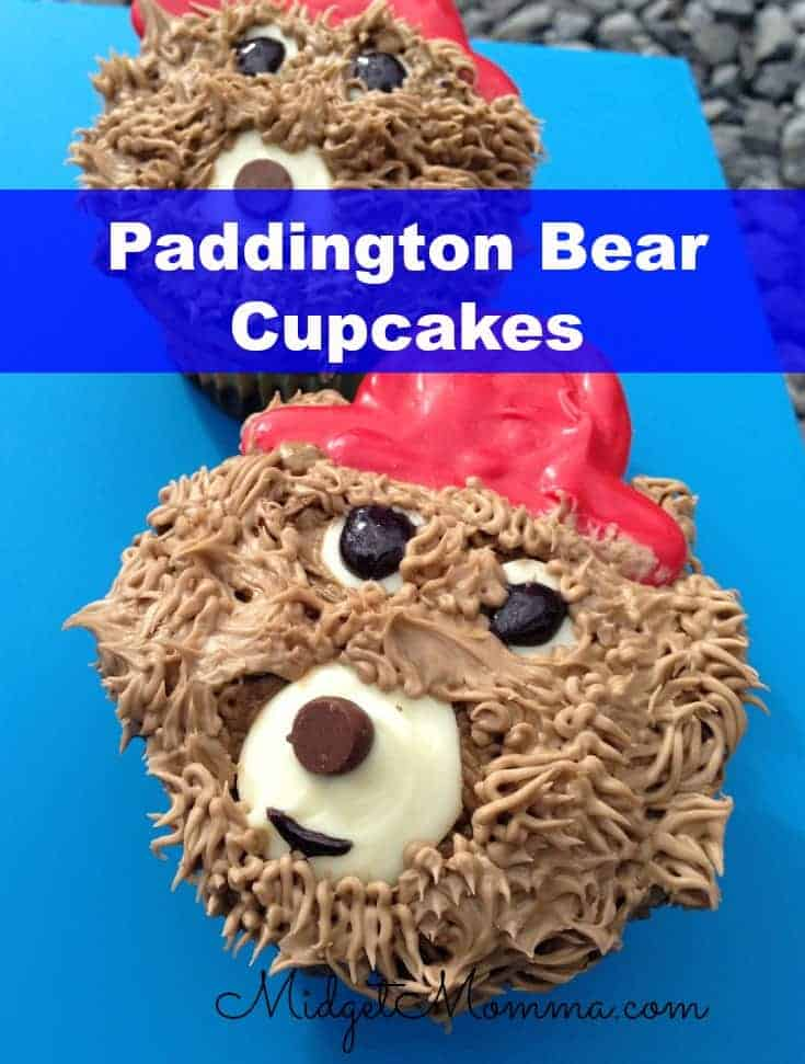 Paddington Bear Cupcakes That Are Easy To Make And Super Cute