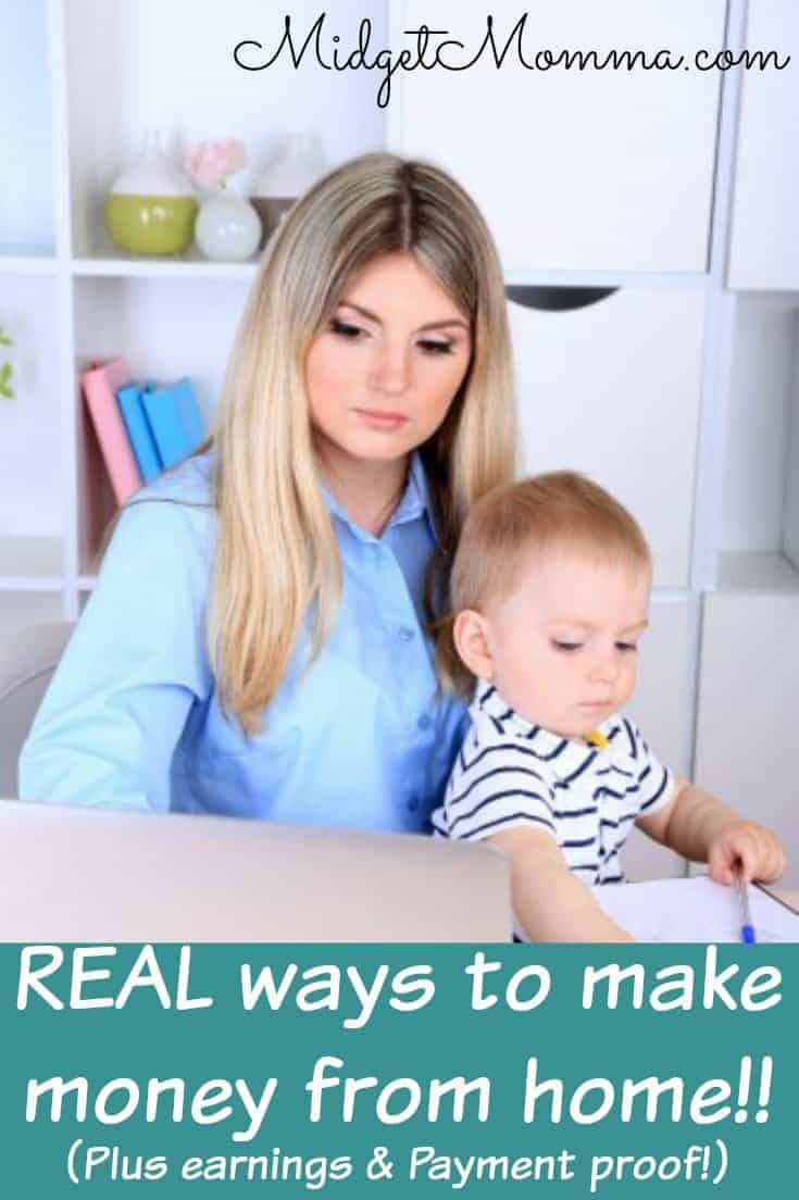 how to make real money from home