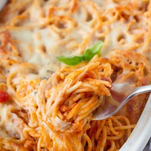 easy baked spaghetti