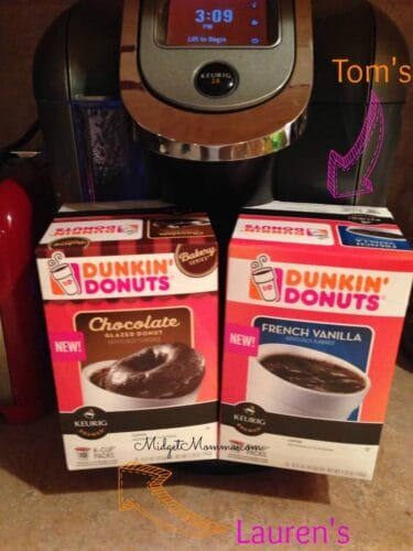 Dunkin Donuts kcups