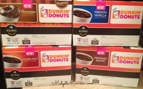 Dunkin donuts kcups in the grocery store