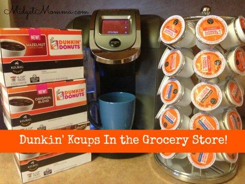 Dunkin kcups