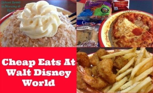 eat cheap at disney world