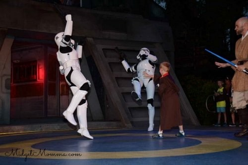 free jedi training at Disney World