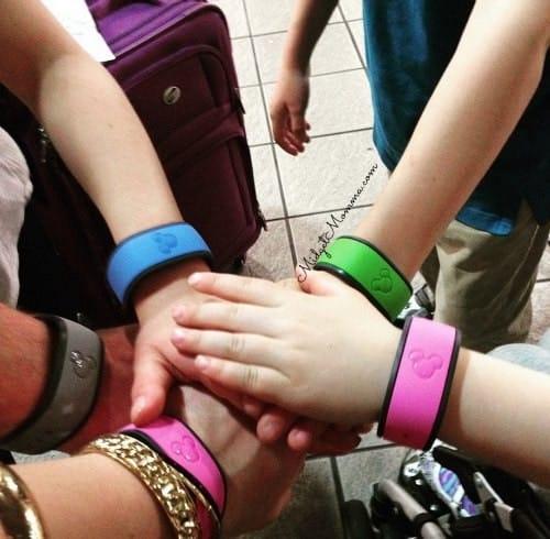 free magic bands at Disney World
