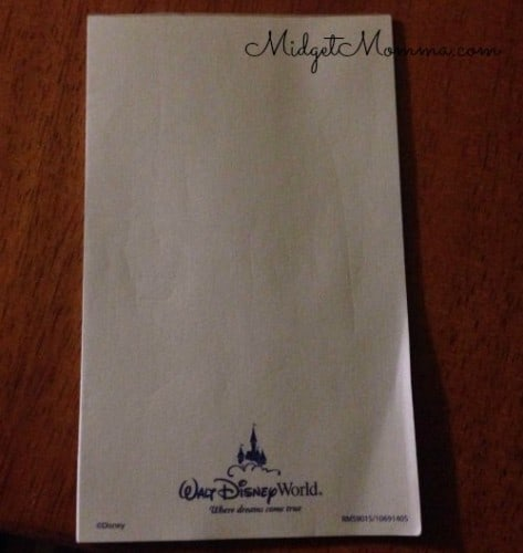 freebies at disney world free disney notebook