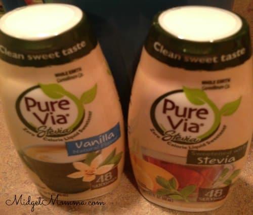 pure via liquid stevia