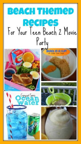 Beach Party Themed Recipes, Beach Themed Recipes, recipes for beach party, beach party food recipes