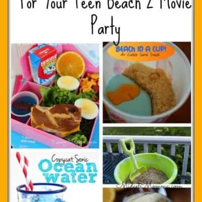 Beach Party Themed Recipes, Beach Themed Recipes, recipes for beach party, beach party food recipes