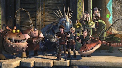 DreamWorks Dragons Race to the Edge Exclusive Netflix Series