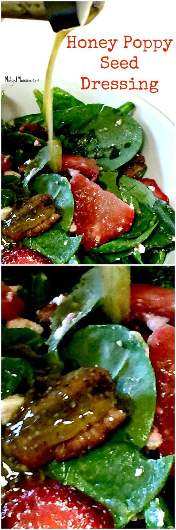 homemade honey poppy seed salad dressing recipe