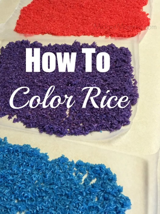 How To Color Rice 1