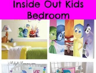 Inside Out Kids Bedroom