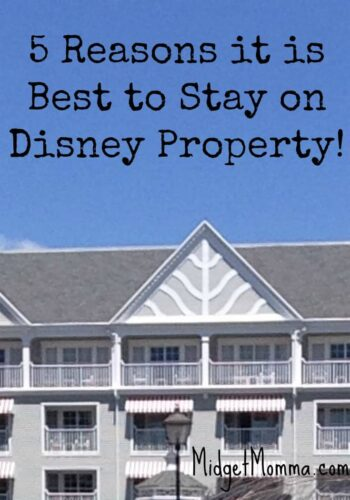 Better to Stay at a Disney World Resort