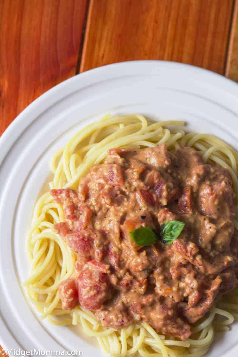 Tuscan Sun Dried Tomato Sauce
