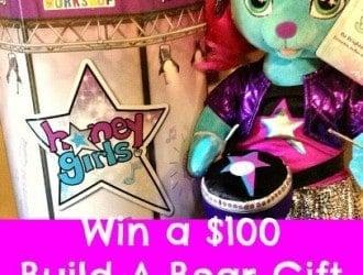 Meet The Build-A-Bear Honey Girls! + $100 Build-A-Bear Gift Card Giveaway!