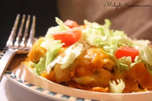 chicken doritios taco casserole