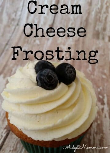 Cream Cheese cupcake Frosting