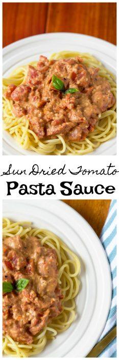 sun dried tomato pasta sauce recipe