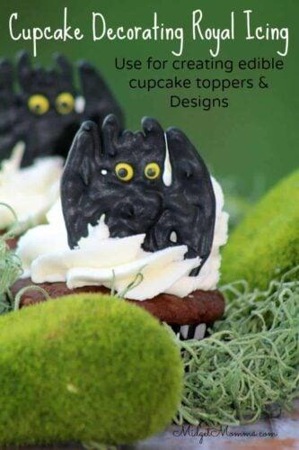 Cupcake Decorating Royal Icing