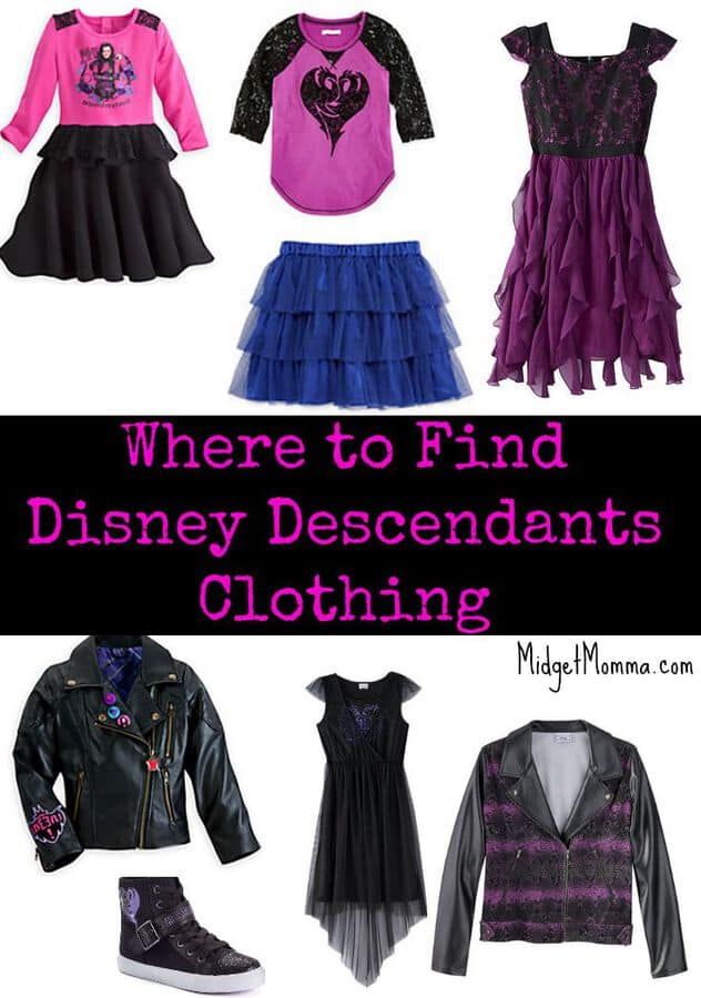 Where To Buy Disney Descendants Clothing For Kids