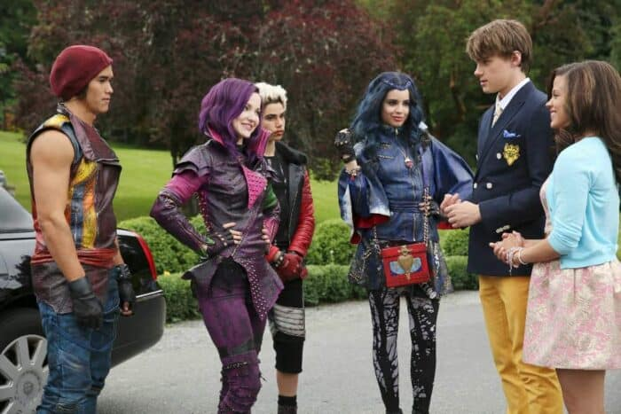 Disney's Descendants Movie characters