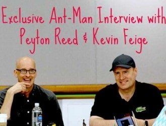 Exclusive Peyton Reed & Kevin Feige Ant-Man Interview
